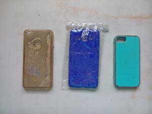 lote de protectores de silicona para celulares vendo en La