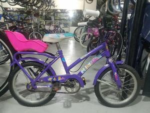 Bicicleta de Paseo de Niña Rodado 14 Usada