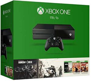 Consola Xbox Uno 1tb - Liar Arco Iris Six Cerco Tom Clancy