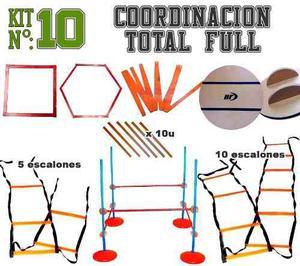 Kit Nº10 Coordinacion Total Full Marca Deportes Full