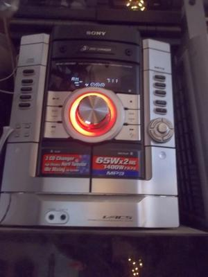 minicomponete sony system hi-fi mhc-rg190 parlantes aiwa