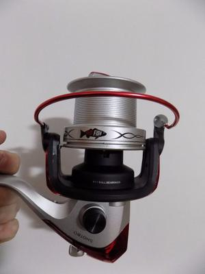 Reel Frontal Grande Conico Red Fish Shot 80 9 Rulemanes