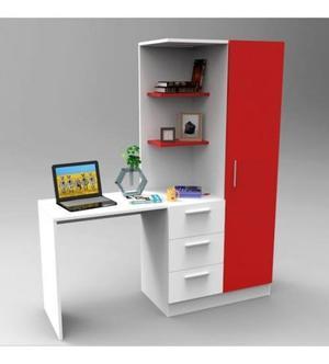 Escritorio Biblioteca Dormitorio Linea Moderna Juvenil Nuevo
