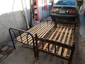 Vendo camas de una plaza