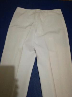 Vendo pantalón de mujer chatelet talle 42 blanco
