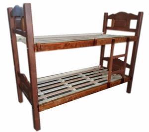 cama cucheta algarrobo