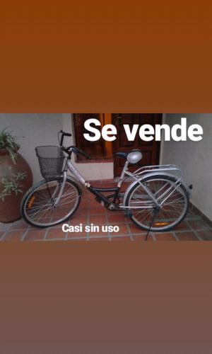 Bicicleta casi sin uso