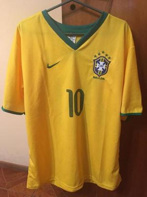 Camiseta Brasil Neymar 10 L
