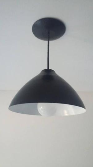Lámpara Colgante Moderna de Chapa
