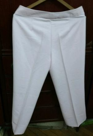 Pantalón de Vestir blanco T 46