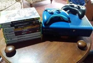 Vendo xbox  gb original mas 9 juegos fisicos y 2