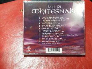 cd Best of Whitesnake