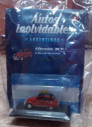 Citroen 3cv 1/43 Salvat Con Revista Nuevo!