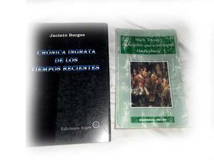 lotes de libros a 10 pesos cada uno- los libros que no le