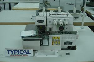 Máquina overlock industrial de 3 hilos Typical GN-793.