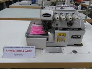 Máquina para coser overlock industrial de 4 hilos Master
