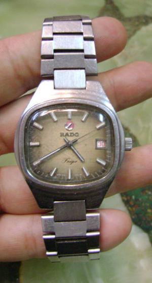 Reloj Pulsera Hombre Rado Freiger Automatico Funcionando