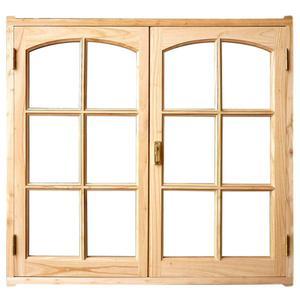 VENTANA madera completa de 127 x 119 - FABRICA