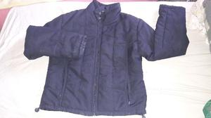 campera inflable marca SKR talle L UN USO real negra mujer