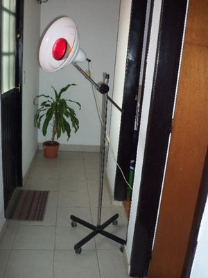 lampara infraroja de pie