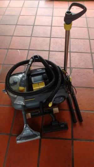 lavatapizado karcher puzzi 10/1 + compresor de aire