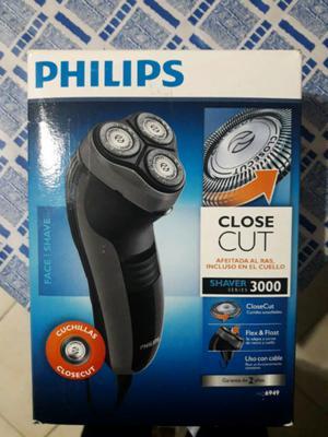 Afeitadora Philips CloseCUT Serie