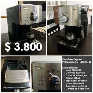 Cafetera Express Philips Saeco Hd... San Lorenzo (SF)
