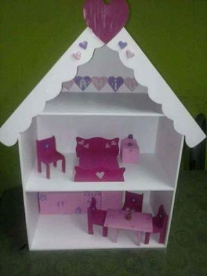 Casitas para muñecas con muebles