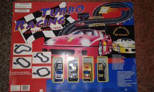 Pista de autos. Turbo Racing