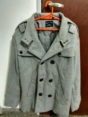 Vendo abrigo tipo saco sin uso talle m