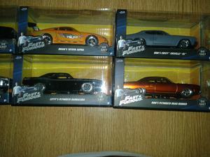 Vendo auto rapido y furioso colección de nacion