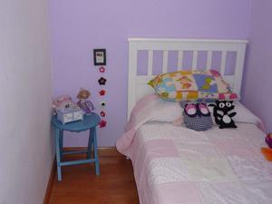 vendo cama 1 plaza blanca muy linda