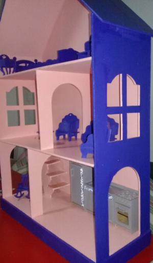 Casa de muñecas - elegí el color!!!