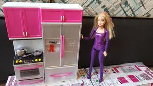 Cocina Para Muñecas My Happy Kitchen Con Luz Y Sonido Para