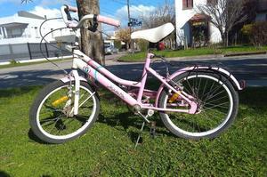 Bicicleta rodado 20 nena