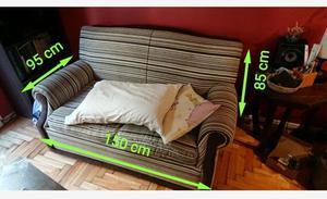Sofa Cama Sillón 2 cuerpos