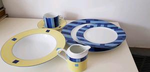 Vajilla; juego de platos y te