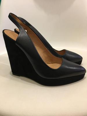 Zapatos ZARA woman Negros Clásicos con plataforma
