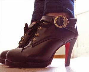 Zapatos de diseño de Cuero