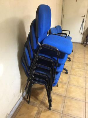 Lote de sillas usadas de oficina   Posot Class