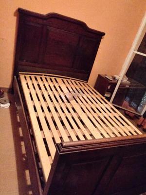 vendo cama antigua