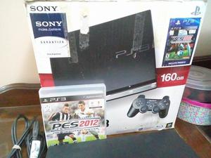 Ps3 Play Station 3 Slim 160gb en caja