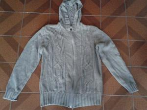 campera de lana marron