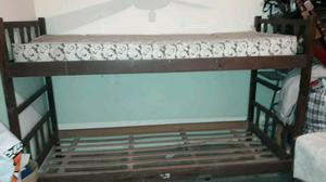 Cama cucheta con colchon
