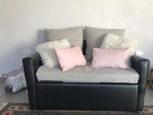Sillón sofá cama dos cuerpos