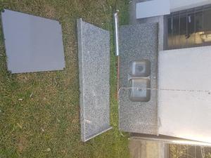 Vendo 3 mesadas de granito gris Mara