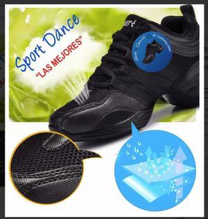 Zapatillas para danza y baile con camara de aire Importadas