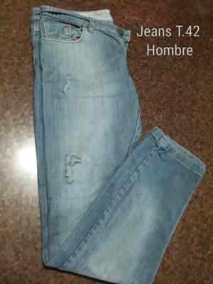 Jeans hombre talle 42