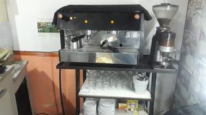 maquina de cafe con molino nueva