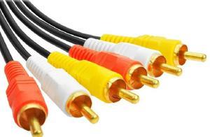 Cable Rca Audio Y Video De 15 Metros